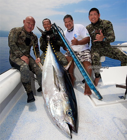 Jon schwartz 39 s blog fishing big fish photography and for Does tuna fish have scales